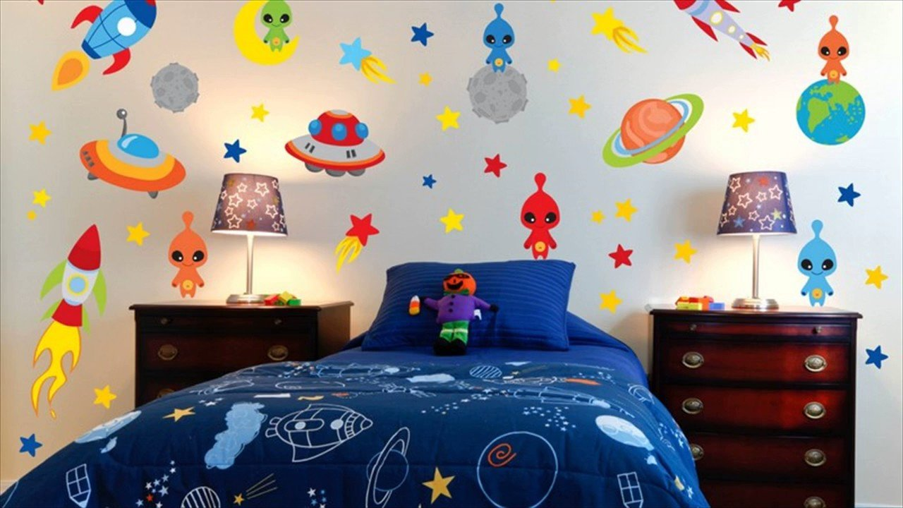 Space Room Decor for Kids Fresh Space theme Room for Kids