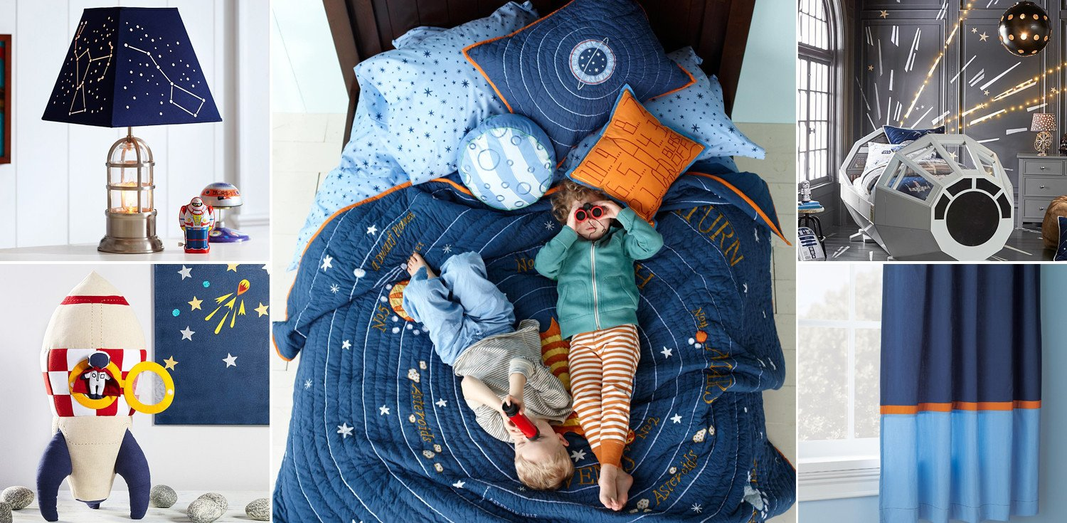 Space Room Decor for Kids Lovely Outer Space Bedroom