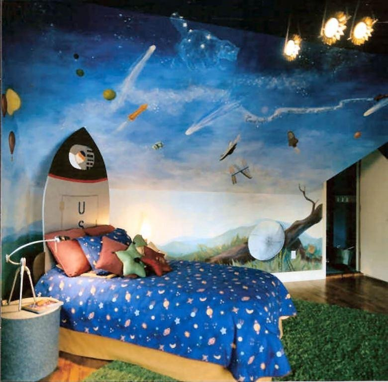 Space Room Decor for Kids Luxury 15 Fun Space themed Bedrooms for Boys Rilane