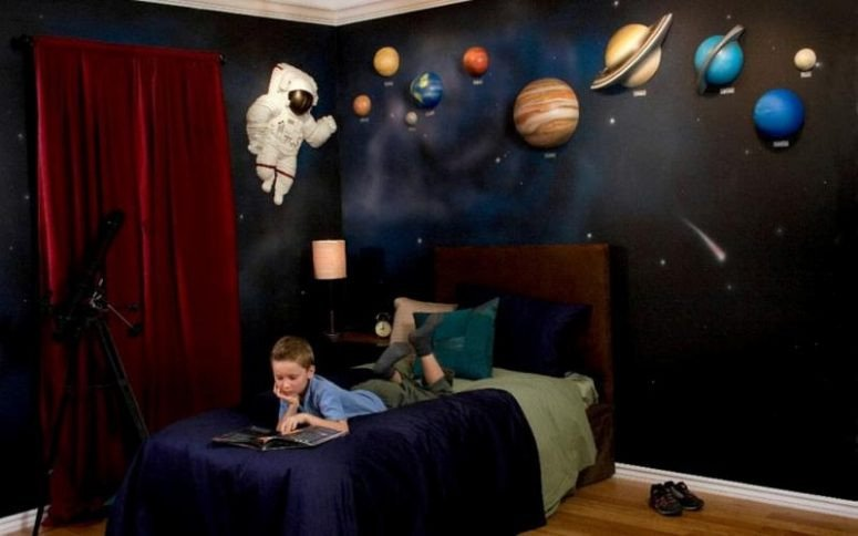Space Room Decor for Kids Luxury 50 Space themed Bedroom Ideas for Kids and Adults