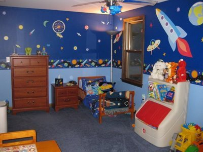 Space Room Decor for Kids Luxury Amazing Little Boy S Outer Space toddler Bedroom Momspotted