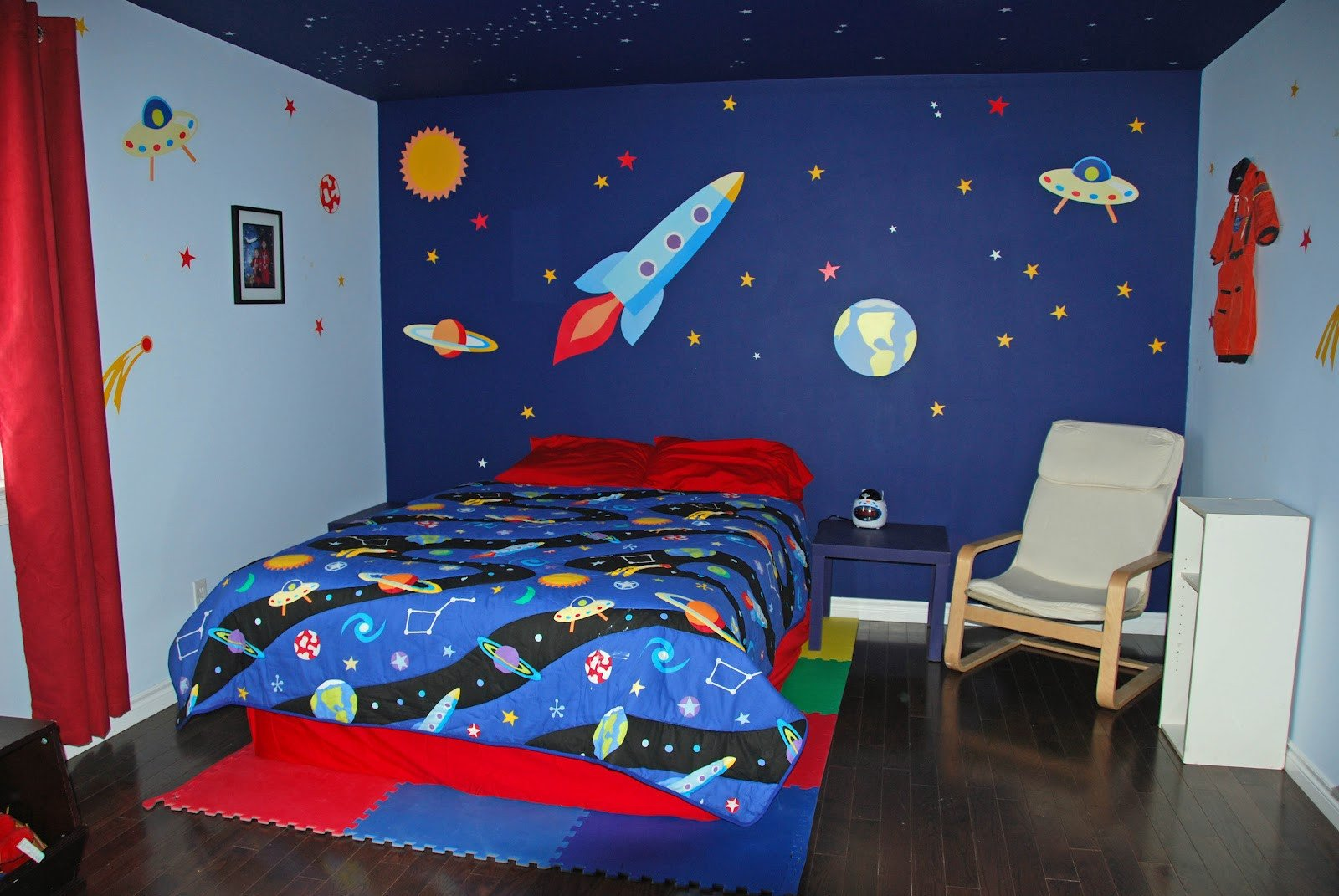 Space Room Decor for Kids Unique Babies and Bulldogs February 2012