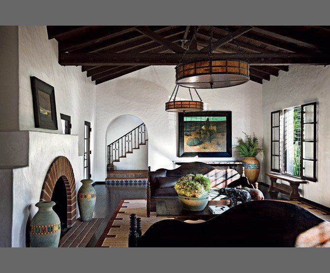 Spanish Style Home Decor Interior Beautiful Diane Keaton S Spanish Colonial Revival Style Mansion Hooked On Houses