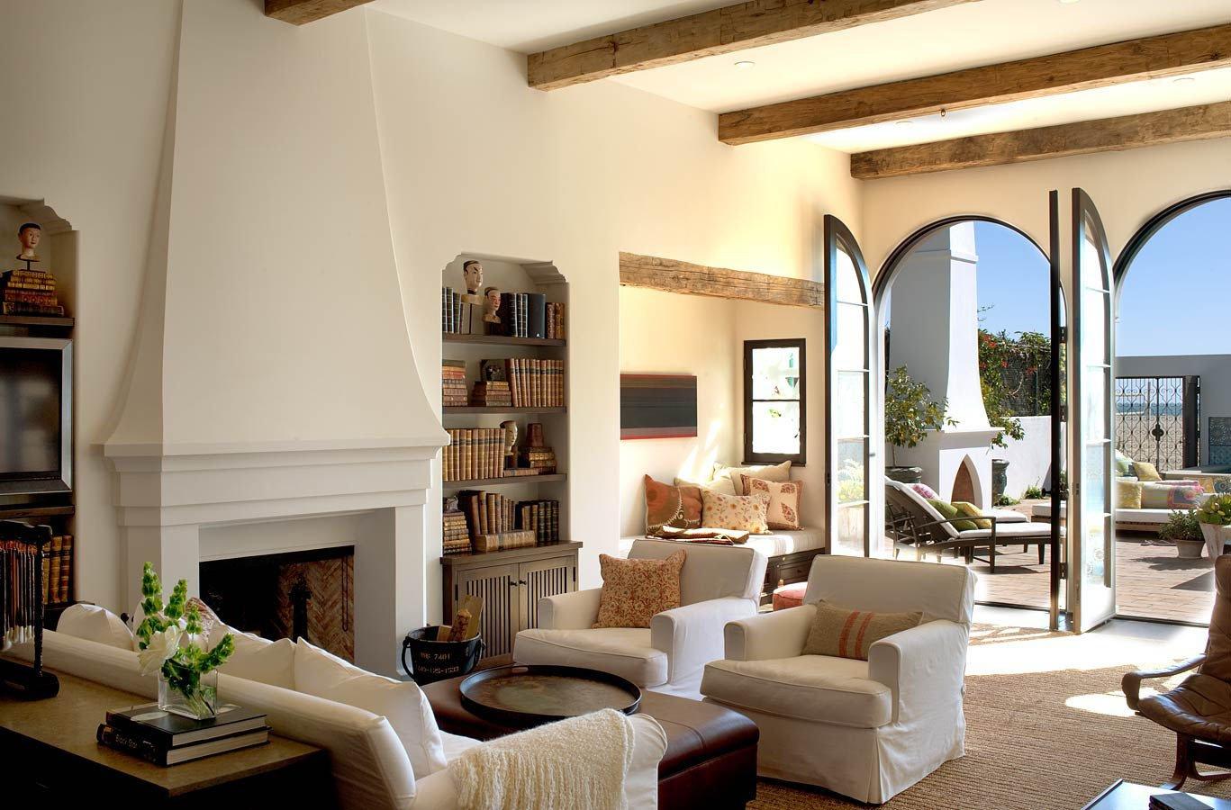 Spanish Style Home Decor Interior Luxury Spanish Colonial Beach House In Santa Monica Idesignarch