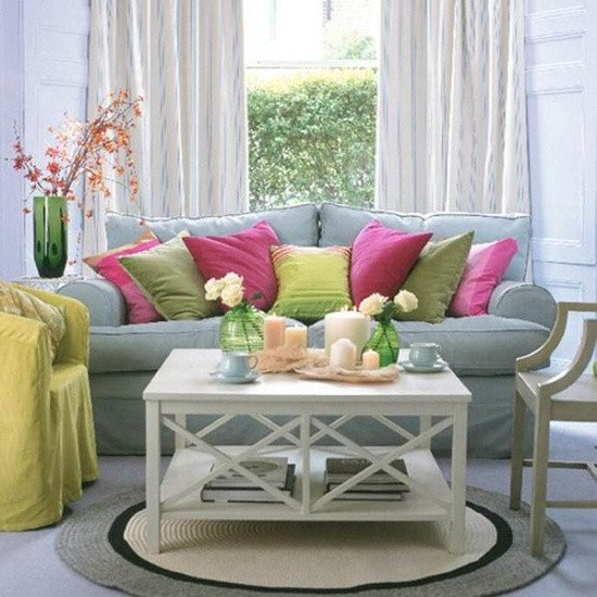 Spring Living Room Decorating Ideas Awesome 33 Colorful and Airy Spring Living Room Designs Digsdigs