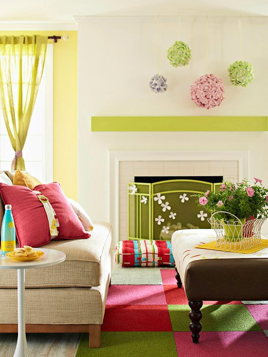 Spring Living Room Decorating Ideas Awesome Modern Furniture 2013 Spring Living Room Decorating Ideas From Bhg