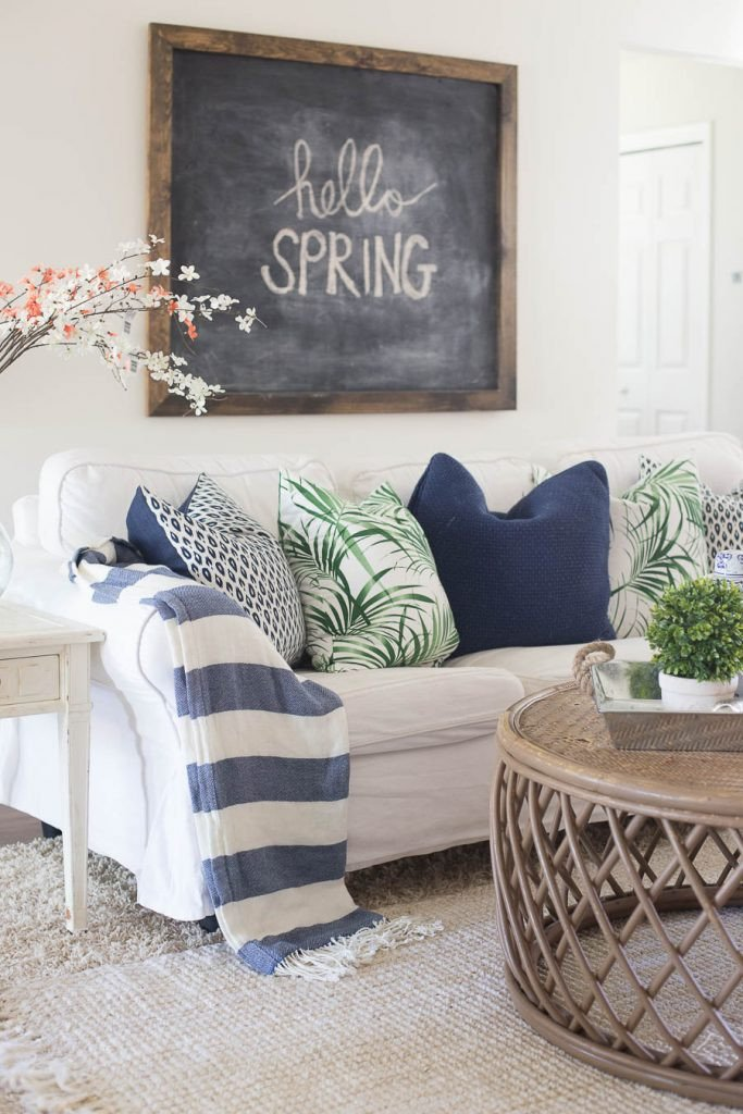 Spring Living Room Decorating Ideas Beautiful Living Room Spring Decorating Making Home Base