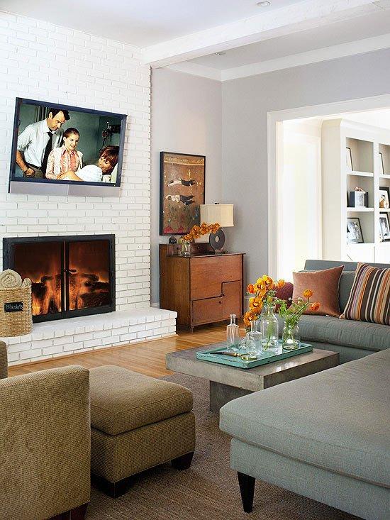 Stylish Living Room Decorating Ideas Luxury Modern Furniture 2013 Modern Living Room Decorating Ideas From Bhg