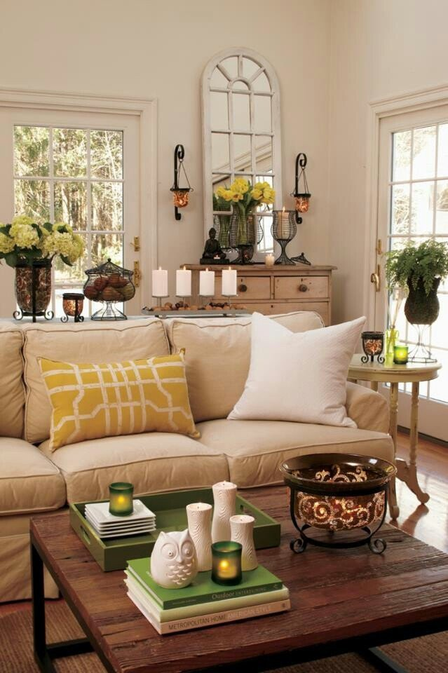Table Decor for Living Room Beautiful 33 Cheerful Summer Living Room Décor Ideas