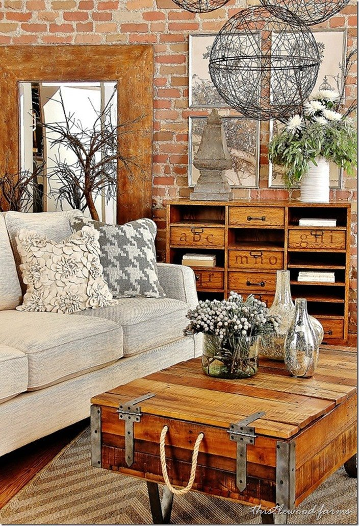 Table Decorating Ideas Living Room Awesome Industrial Farmhouse Decorating Thistlewood Farm