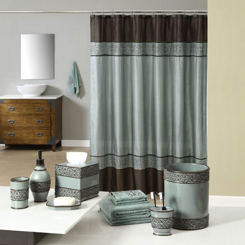 Teal and Brown Bathroom Decor Beautiful Teal and Brown Bath Accessories Wel E Industrial Gala Blue Bath Collection From Anna S Linens