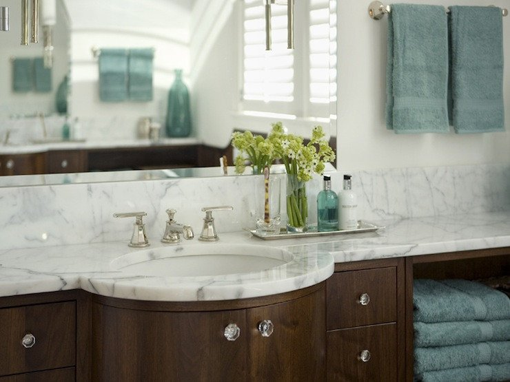Teal and Brown Bathroom Decor Best Of Teal and Brown Bathroom Contemporary Bathroom Siemasko & Verbridge