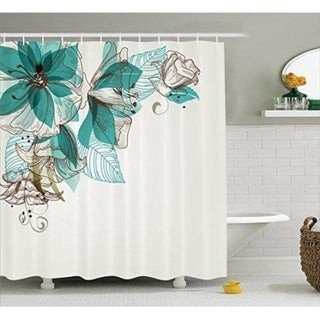 Teal and Brown Bathroom Decor Unique Shop Turquoise Curtain Décor Bathroom Shower Curtain Set Teal Brown Sale Free Shipping