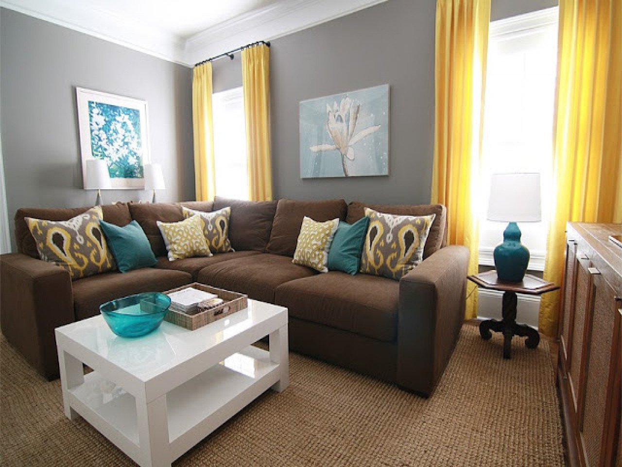 Teal And Brown Living Room Decor Modern House Teal Living Room CBRN Resource Network