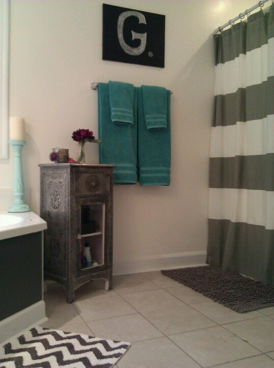 Teal and Gray Bathroom Decor Awesome 25 Best Ideas About Teal Bathroom Accessories On Pinterest