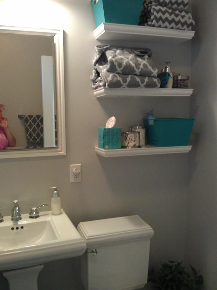 Teal and Gray Bathroom Decor New Updated My Bathroom West Elm Gray Chevron Shower Curtain Sherwin Williams Passive Paint Color