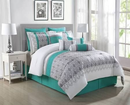 Teal and Gray Bedroom Decor Fresh Teal and Gray Bedding Google Search Bedroom Decor In 2019