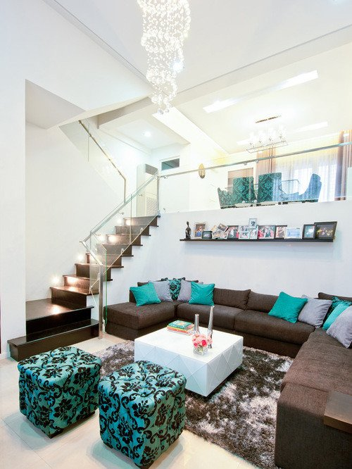 Teal Decor for Living Room Beautiful Working with Brown and Teal Kovi
