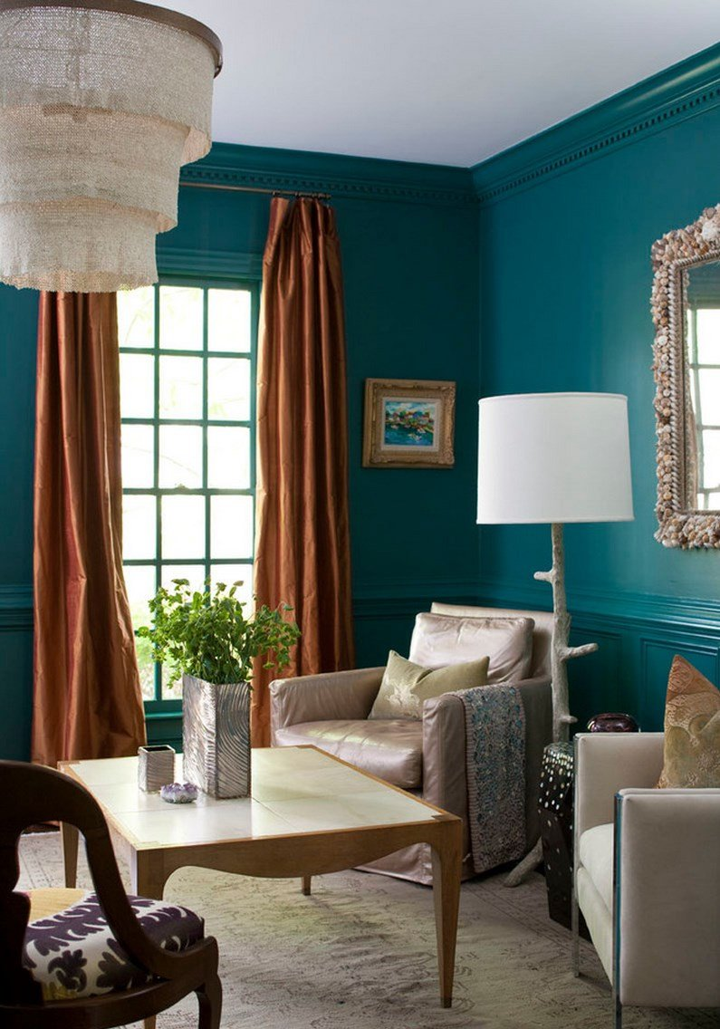 Teal Decor for Living Room Best Of Painting and Design Tips for Dark Room Colors