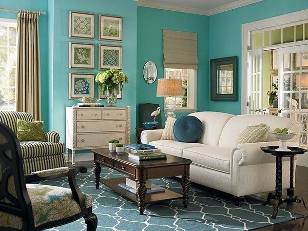 Teal Decor for Living Room Elegant Teal Living Room Design Ideas – Trendy Interiors In A Bold Color