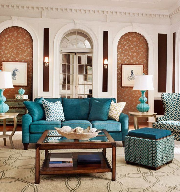 Teal Decor for Living Room Fresh 41 Best Images About Teal and Copper Room Ideas On Pinterest