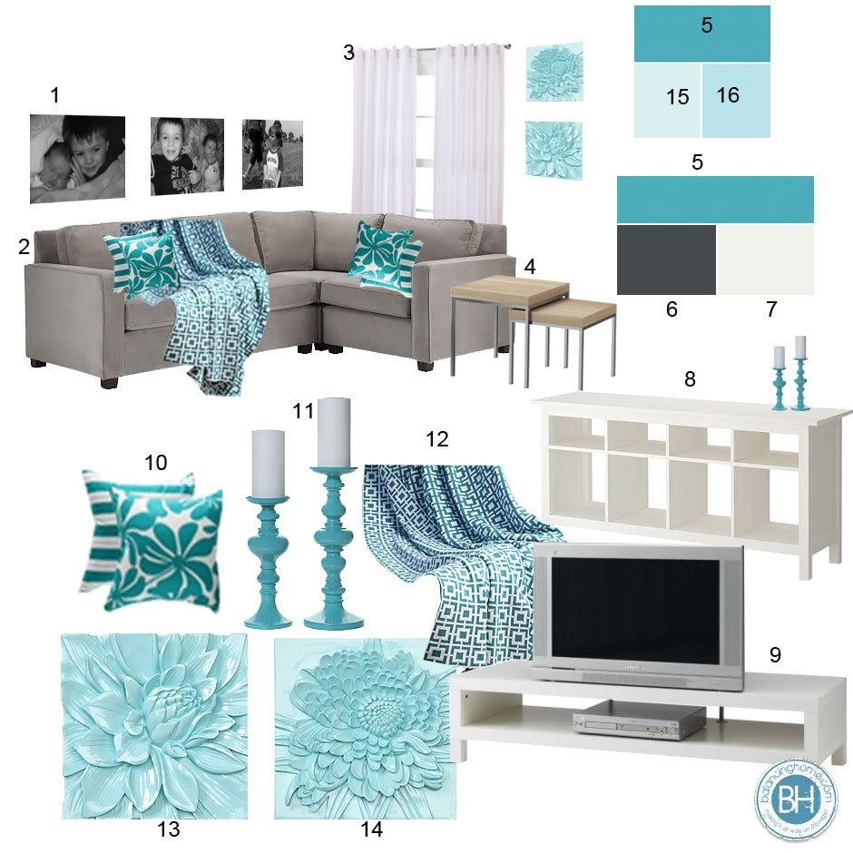 Teal Decor for Living Room Fresh Beautiful Teal Living Room Decor