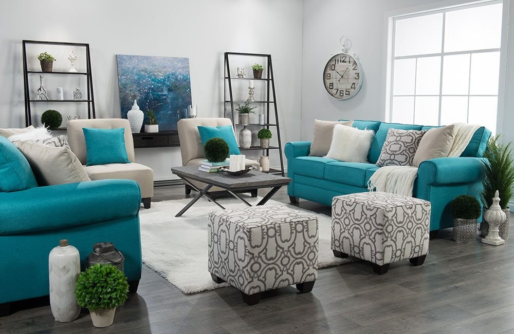 Teal Decor for Living Room Unique How I Design A Room Win $2500 In Custom Furniture