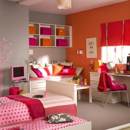 Teenage Girl Room Decor Ideas Awesome 30 Colorful Girls Bedroom Design Ideas You Must Like