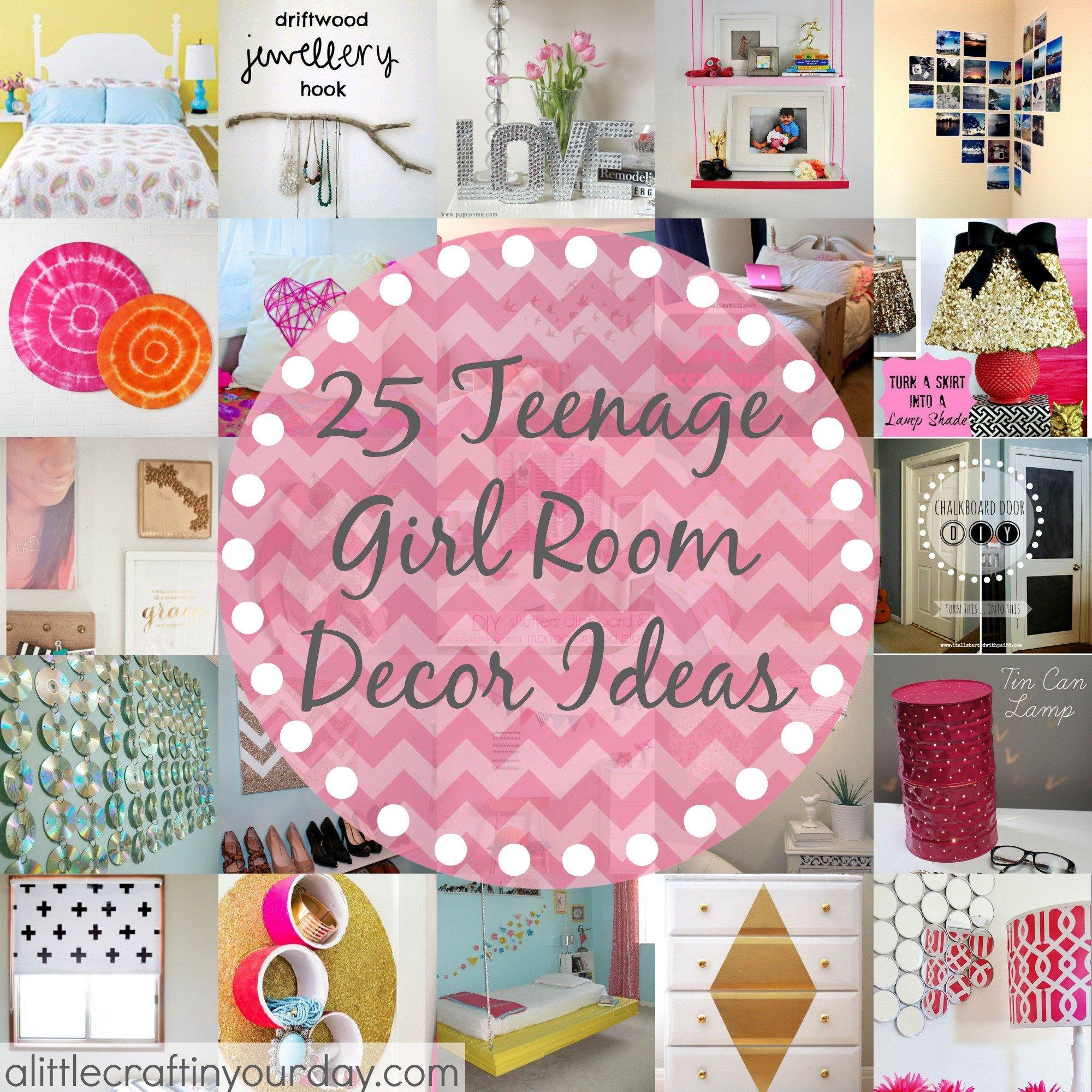 Teenage Girl Room Decor Ideas Elegant 25 More Teenage Girl Room Decor Ideas A Little Craft In Your Daya Little Craft In Your Day