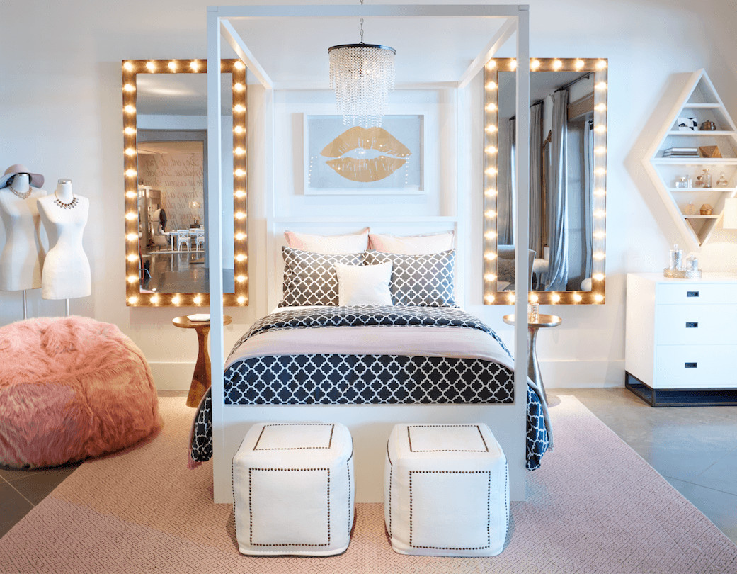 Teenage Girl Room Decor Ideas Lovely 20 the Most Trendy Teen Bedroom Ideas
