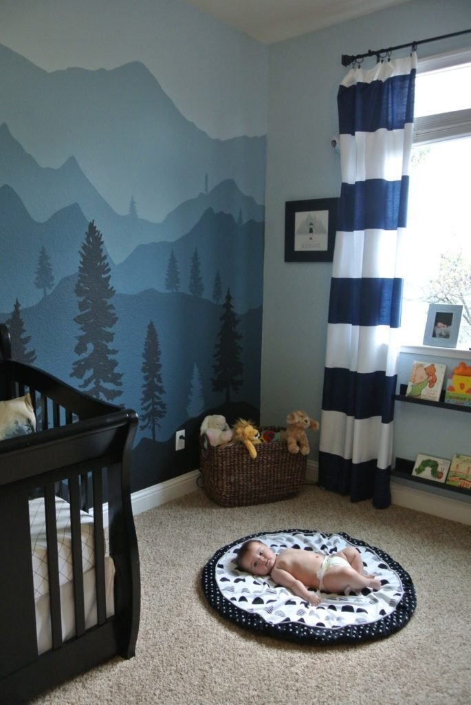 Toddler Boy Room Decor Ideas Beautiful Maddox's Mountain Nursery Project Nursery