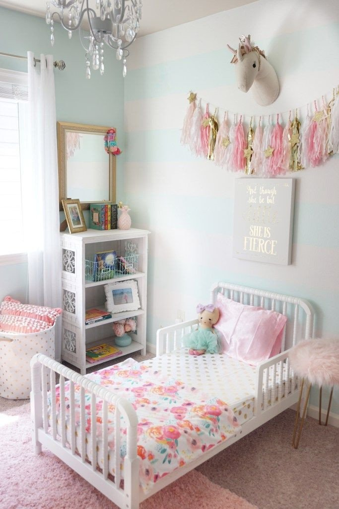 Toddler Girl Room Decor Ideas Elegant toddler Room Refresh Bedroom Ideas