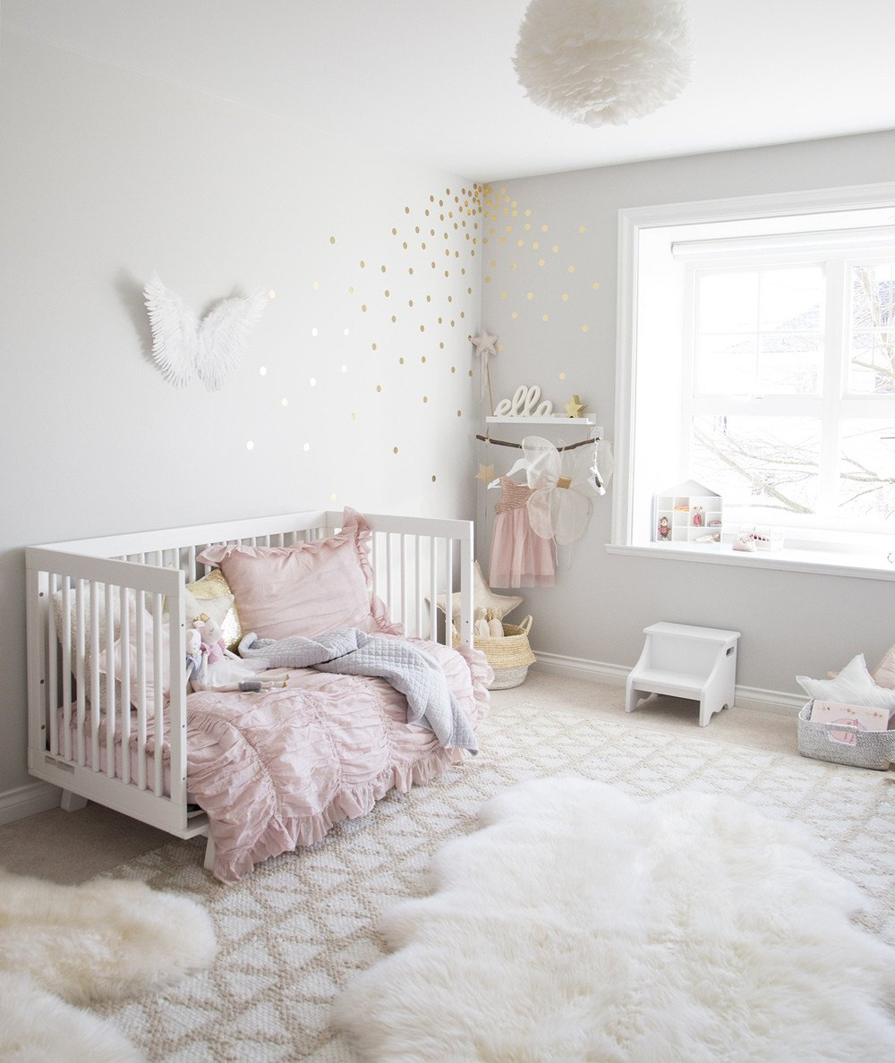 Toddler Girl Room Decor Ideas Fresh Ella S soft Pink and Gold toddler Room — Winter Daisy Interiors for Children