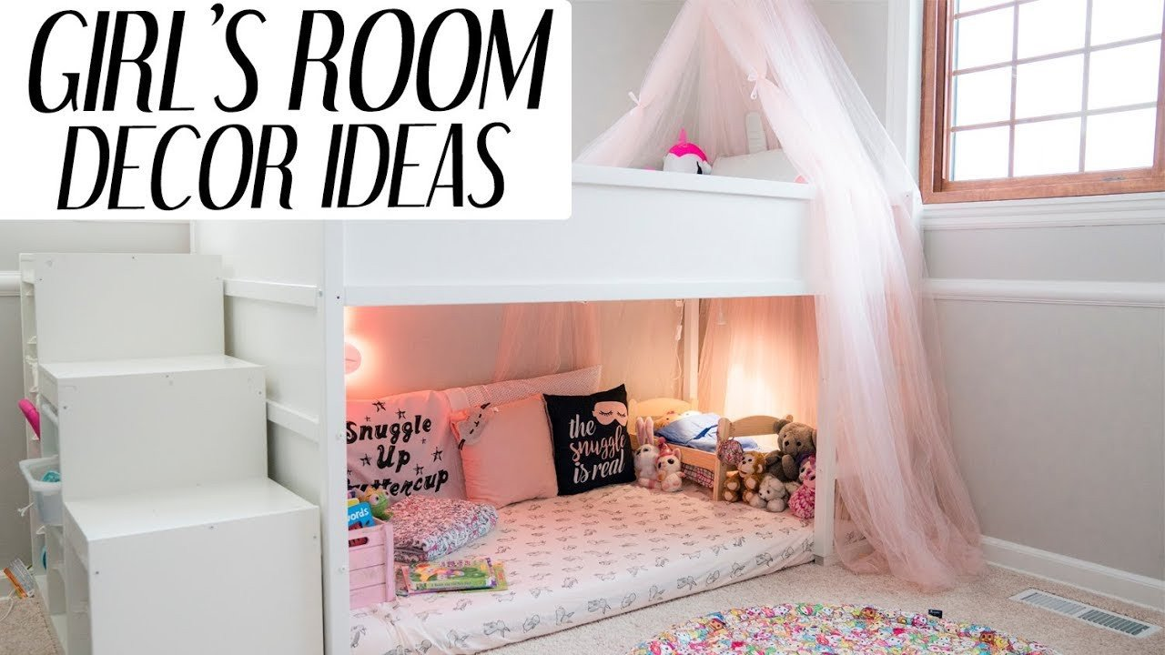 Toddler Girl Room Decor Ideas Inspirational Kids Room Decor Ideas for Girls L Xolivi