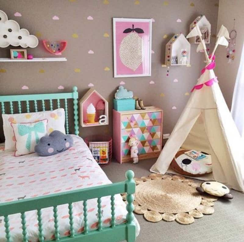 Toddler Girl Room Decor Ideas Lovely Creative Kids Room Ideas for Dreamy Interiors