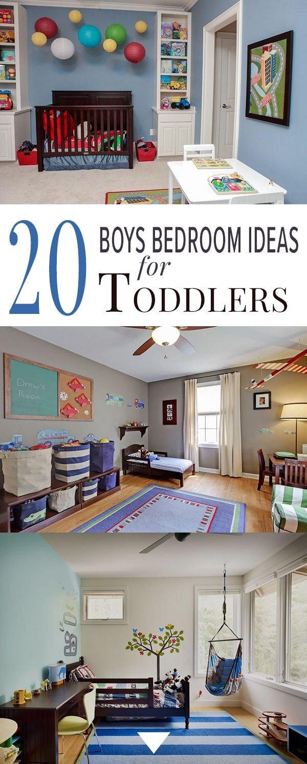 Toddlers Boys Room Decor Ideas Lovely 20 Boys Bedroom Ideas for toddlers Bedrooms