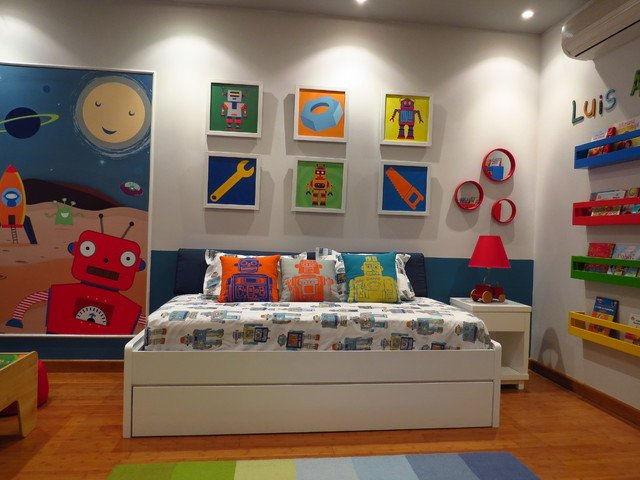 Toddlers Boys Room Decor Ideas Lovely Robot toddler Room