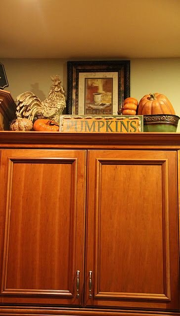 Top Of Cabinet Decor Ideas Elegant 42 Best Images About Decor Above Kitchen Cabinets On Pinterest