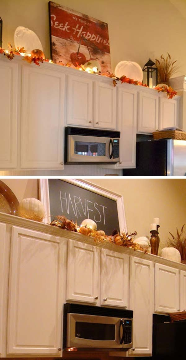 Top Of Cabinet Decor Ideas Luxury 20 Stylish and Bud Friendly Ways to Decorate Kitchen Cabinets
