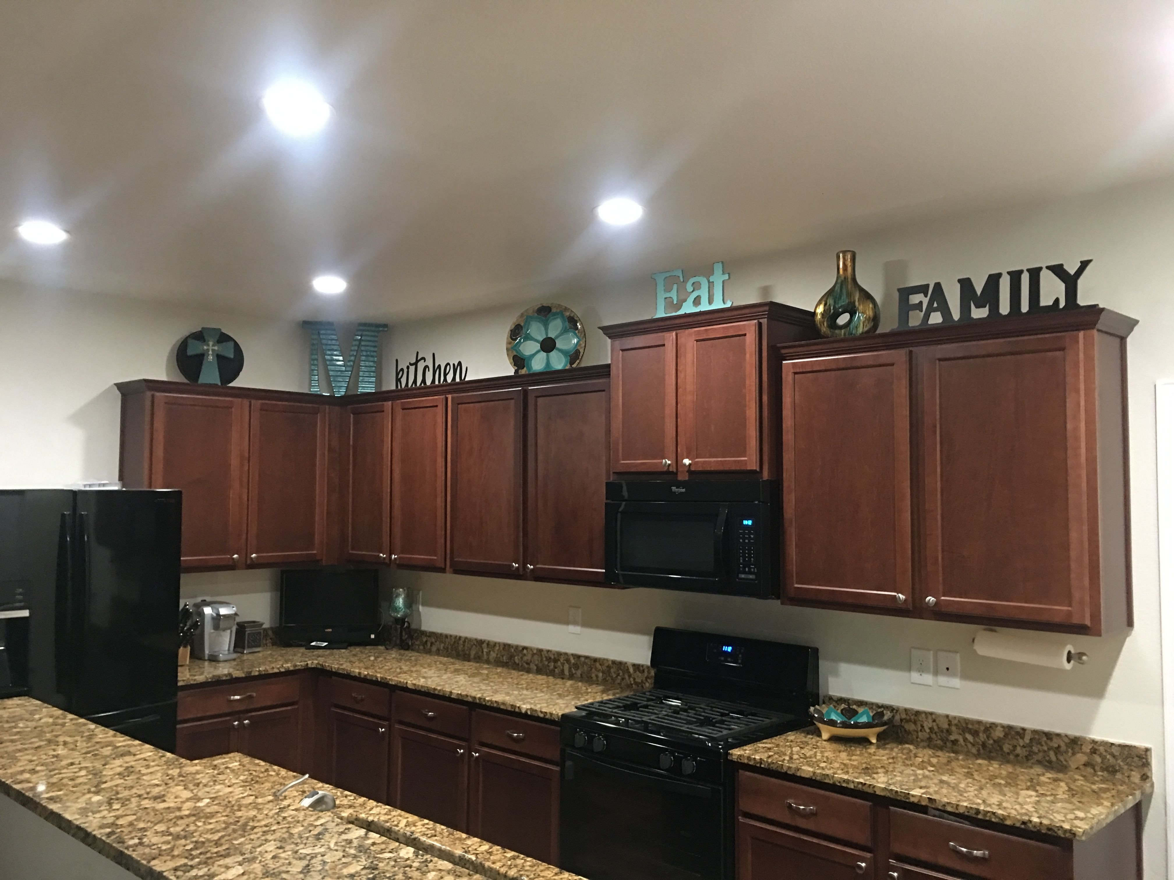 Top Of Kitchen Cabinet Decor Awesome Cabinet Decor New Home Ideas In 2019