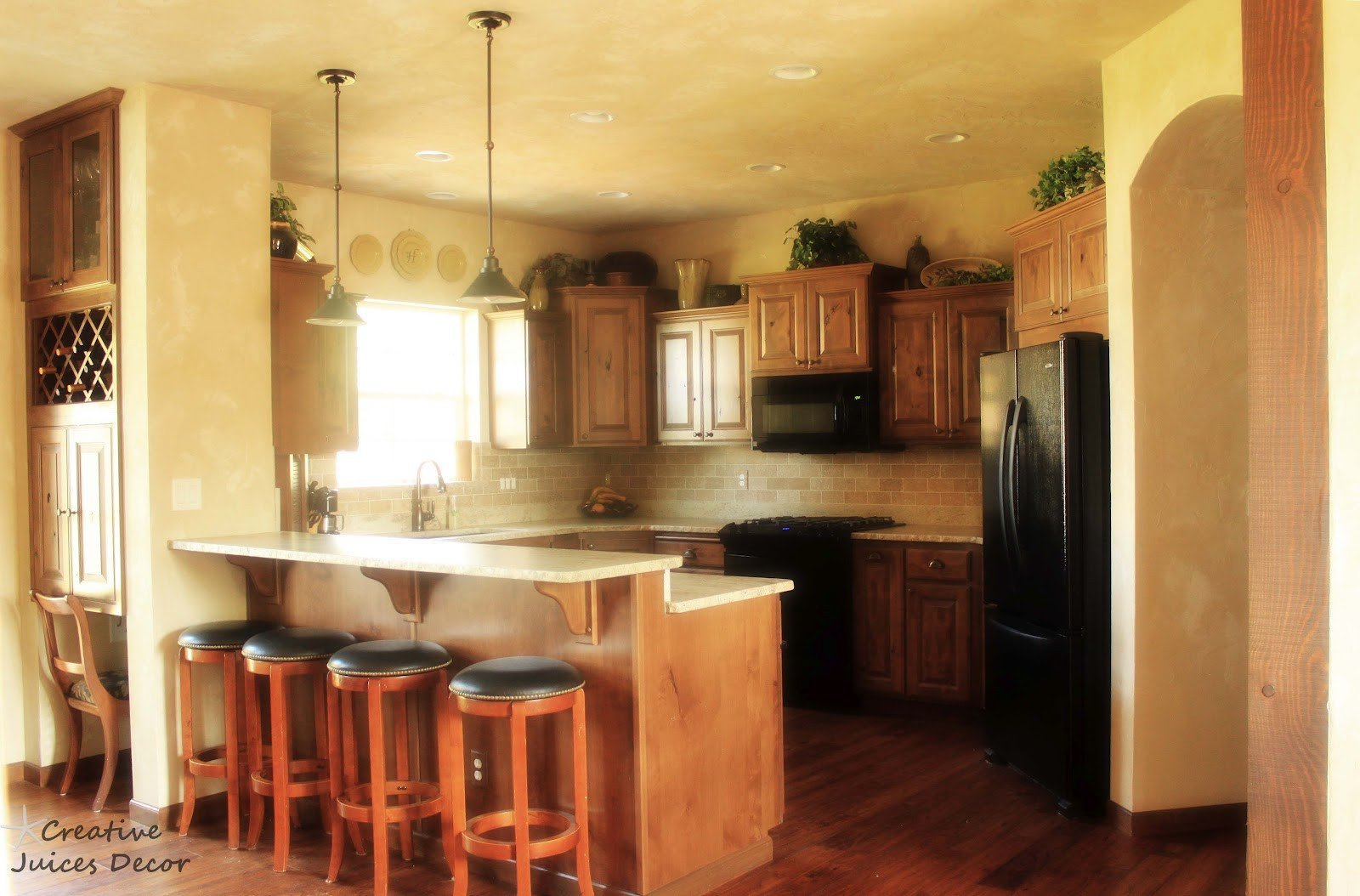 Top Of Kitchen Cabinet Decor Beautiful Creative Juices Decor Decorating the top Of Your Kitchen Cabinets A Few Tips and Tricks