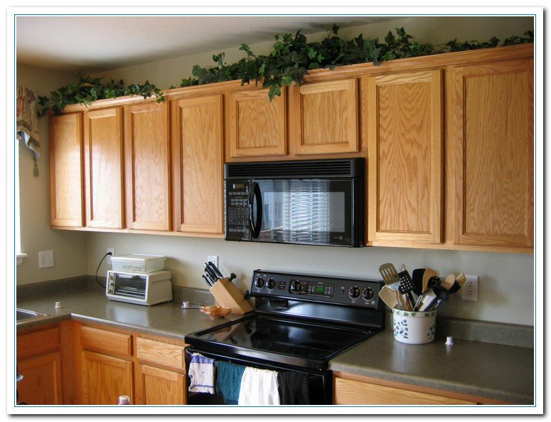 Top Of Kitchen Cabinet Decor Beautiful Tips for Kitchen Counters Decor