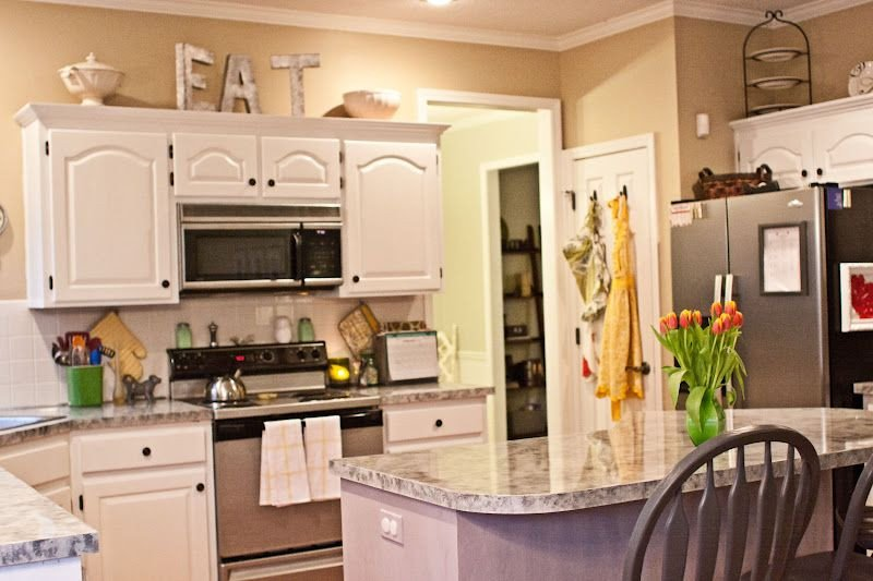 Top Of Kitchen Cabinet Decor Best Of Decorating Above Kitchen Cabinets with Flowers Giesendesign New Home