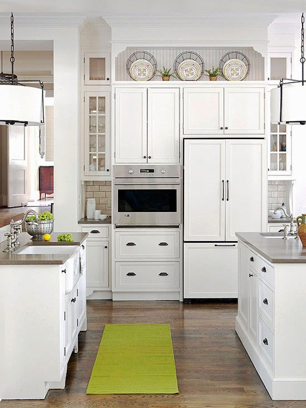 Top Of Kitchen Cabinet Decor Elegant 10 Ideas for Decorating Kitchen Cabinets