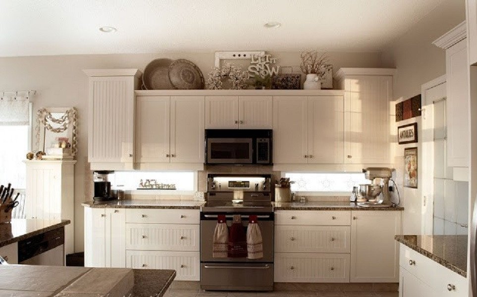 Top Of Kitchen Cabinets Decor Best Of Ideas for Decorating the top Of Kitchen Cabinets