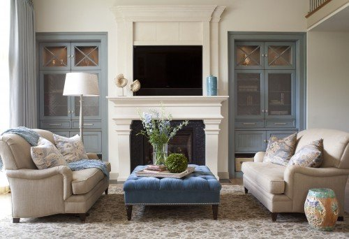 Traditional Blue Living Room Beautiful Traditional Living Room Ideas and S