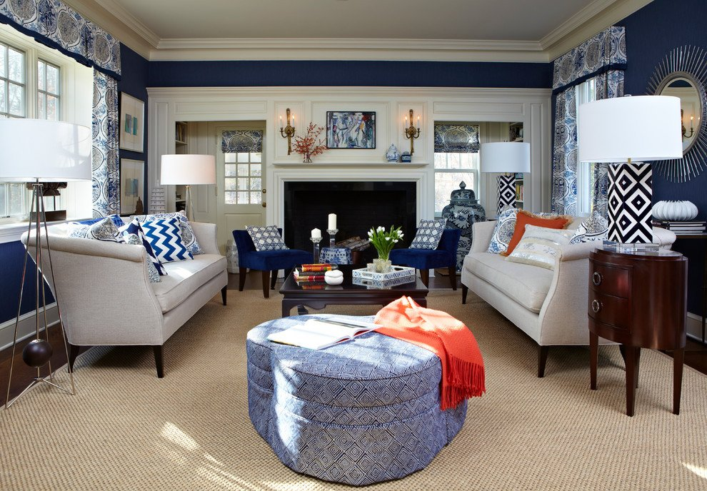 Traditional Blue Living Room Best Of Navy Blue Living Room Living Room Traditional with Blue White Living Czmcam