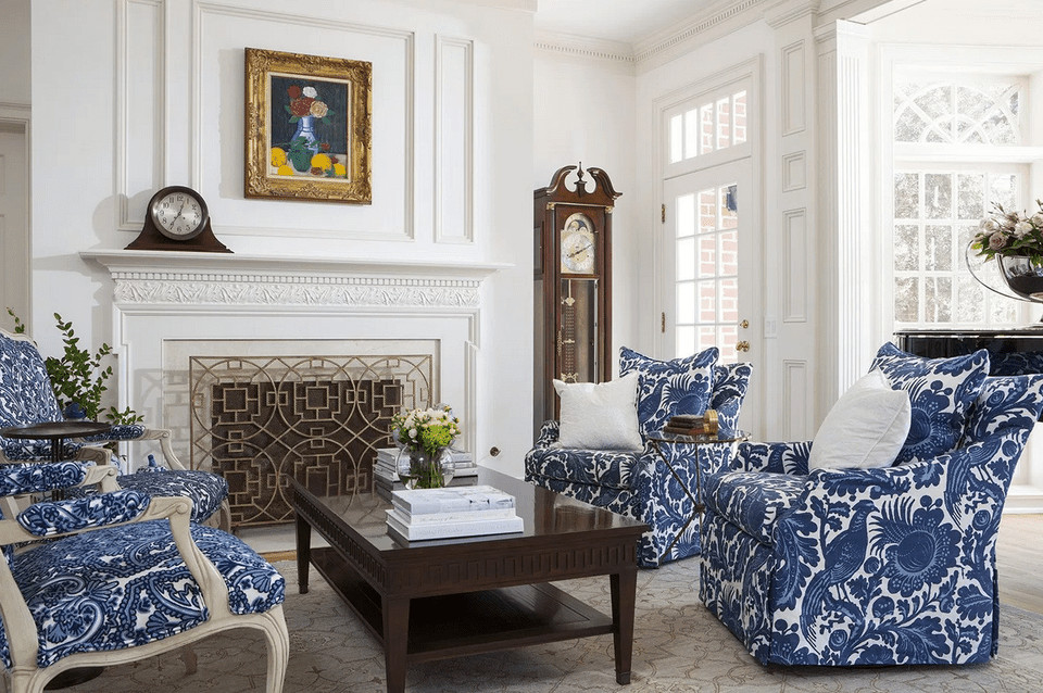 Traditional Blue Living Room Luxury 23 Traditional Living Rooms