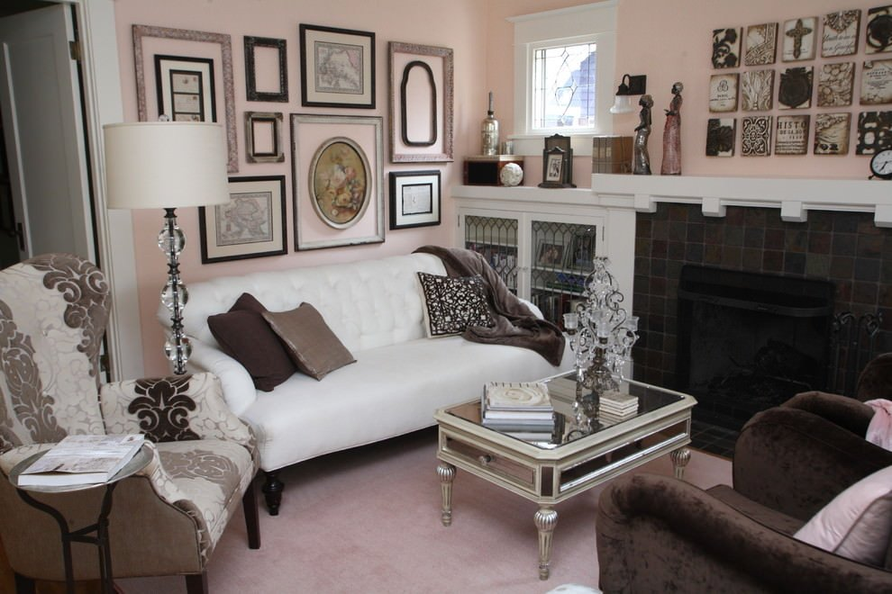 Traditional Chic Living Room Best Of 20 Pink Living Room Designs Decorating Ideas