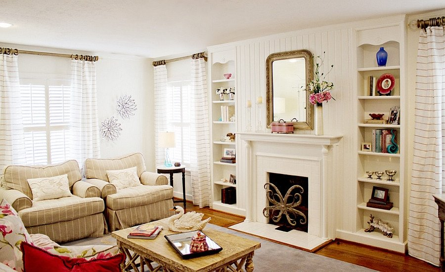 Traditional Chic Living Room Fresh Feminine Living Rooms Ideas Decor Design Trends